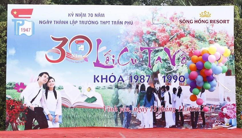 Hội khóa trường Trần phú 1987 - 1990