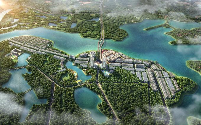 Sông Hồng Thủ Đô phát triển dự án River Bay Vĩnh Yên